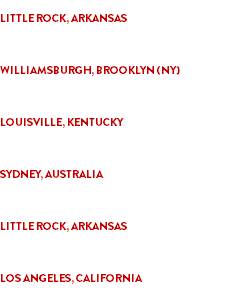 """LITTLE ROCK HORROR PICTURE SHOW"" LITTLE ROCK, ARKANSAS ""THE PHILIP K. DICK INTL. FILM FESTIVAL"" WILLIAMSBURGH, BROOKLYN (NY) ""FRIGHT NIGHT FILM FEST"" LOUISVILLE, KENTUCKY ""A NIGHT OF HORROR INTL. FILM FEST"" SYDNEY, AUSTRALIA ""BOSTON SCIENCE FICTION FILM FESTIVAL"" LITTLE ROCK, ARKANSAS ""LOVECRAFT FILM FESTIVAL 